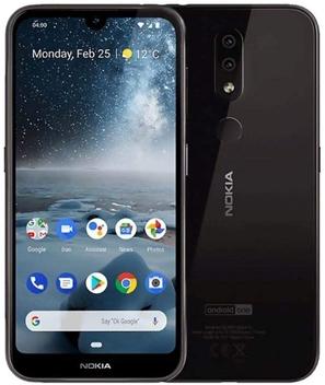 NOKIA 4.2 Android Smartphone, 3GB RAM, 32GB Memory, 5.7 Inch HD+ Display, 13MP Dual Read Camera - Black
