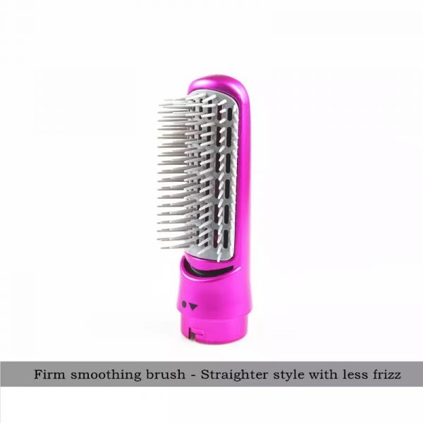 Hair Dryer Brush Pink Color